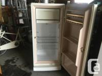 Hi, I have two vintage refrigerators, the first is a