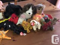 Fun collection of 30 Ty Beanie Babies. Well kept, some