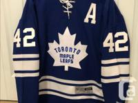 Jersey is in mint condition with tags. Tyler's name,
