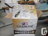 """US Kids Golf set for height of child 61"""" to 65"""". Set"""