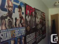UFC posters for $5 each. I got 126 , 118, 119, 132, &
