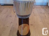 Authentic Ugandan Djembe that I personally brought back