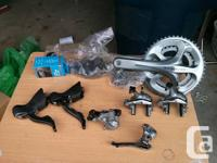 Selling an Ultegra 6700, 10 speed groupset. The for sale  British Columbia