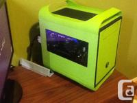High end compact gaming computer, comes with 3