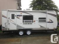 This Pristine (Used only 4 times) 2011 Salem T22 comes