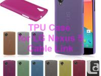 Ultra Slim Thin Soft Matte TPU Back Cover Case Pouch