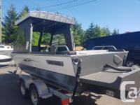 New Ultrasport 20' hardtop boat package with Mercury