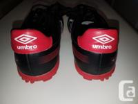 Women's size 5.5 Umbro turf shoes, worn just 3 months,