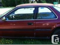 UNUSUAL 2 Door Honda ACCORD 1992. Are you looking for a