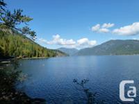 Rare 210 feet of waterside home on Christina Lake, BC.
