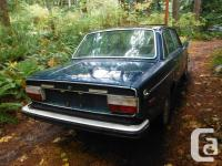 Make. Volvo. Year. 1973. Colour. Blue as well as