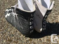 These lacrosse/football cleats were used only for