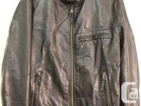 UNIQLO  Leather Jacket   Japanese brand   Men's   Size: