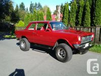 This  one-of-a-kind  1965 Rambler on a Wagoneer frame