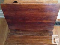 Antique school desk for sale. Features all original