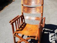 From Costa Rica this rocker folds up and is easy to