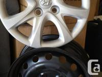 2012 Hyundai Accent rims and wheel covers ... I am
