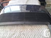 Original Porsche 911 deck cover and deck lid vent (set