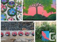 Hi there, Im Joy! A local artist new to the area of