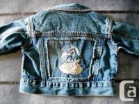 Unisex 12 month 725 Originals Denim Jacket....with one