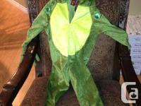 Cute kids Frog Halloween costume.  Unisex size 3T.