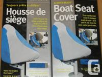 Universal fit boat seat covers made of Hurricane