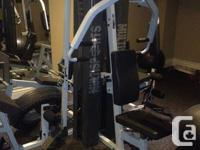 A home gym that allows you to train all parts of your