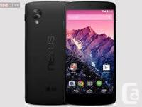 Unlocked Google Nexus 5 (White and Black Color)