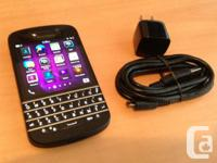 GOT A NEW BLACKBERRY Q10 UNLOCKED  BLACK  PAID $50 TO