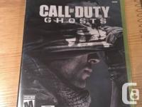 Selling the Call of Duty: Ghosts for Xbox 360. It is