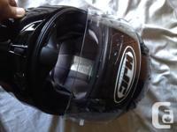 High Vis Jacket. Barely Worn. Helmet was purchased in