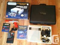 I am marketing a CIB Nintendo NES plus a very unusual