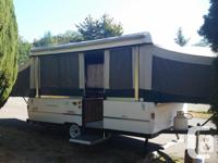 1998 Large Coleman Mesa tent trailer in very good