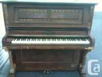 beautiful old style upright Mendelssohn piano ( needs a