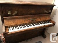 Standard size upright piano. Collard & Collard. it must
