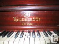I have a 1907 Heintzman Transposing Upright Piano