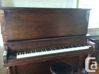 Marketing an exceptional upright grand piano with