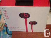 beats by dr dre. paid over $100 bux for them only