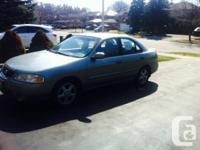 Nissan Sentra GXE 2003 for Sale.   The car is in