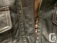Genuine US NAVY G1Pilots Jacket. Goat skin size 38 only