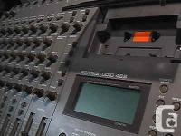 Selling 1 of Tascam's anecdotally speaking, 1 of the