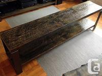 Built from 127 yr old Hemlock floor boards, reclaimed