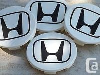 Honda Center Cap Vinyl Decal Sticker Buy two Set Get