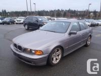 1998 BMW 5-Series 528i Sedan. 2.8L. six cyl. four door.