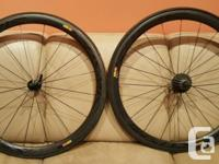 Mavic cosmic wheelset. Light use, had many other sets,