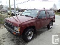 1988 NISSAN PATHFINDER MANUAL four wheel-drive POWER