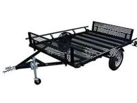 Comes standard with self storing loading ramps that