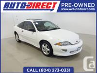 This 1999 Chevrolet Cavalier is inexpensive with great