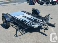 The Marlon MCTD Motorcycle Trailer designed for 2