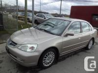 2001 ACURA EL AUTOMATIC POWER GROUP SUNROOF LEATHER